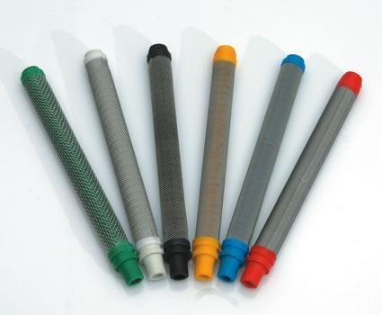 <p>10er Set blaue Airlessfilter, passend für die gängistens Airlesspistole
